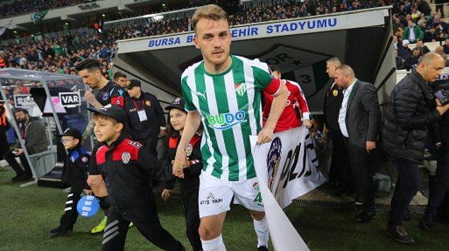 5. Ertuğrul Ersoy / Bursaspor ➡️ Galatasaray