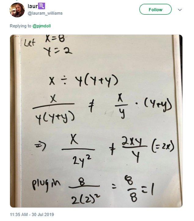 Kimisi ise cevabın 1 olduğu konusunda ısrarcıydı.