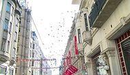 Vatandaşlar Birbirleriyle Yarıştı: İstiklal Caddesi'nde Gökten Para Yağdı