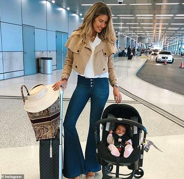 Brezilyalı bir blogger ve yeni doğan kızı...