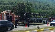 Balıkesir'de Yolcu Otobüsü Seyir Halinde Alev Aldı: 5 Kişi Can Verdi