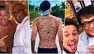 225 Ünlünün İmzasını Sırtına Dövme Yaptırarak Guinness Dünya Rekorlar Kitabı'na Girmeye Çalışan Instagram Fenomeni