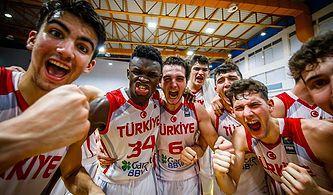FIBA 18 Yaş Altı Basketbol Avrupa Şampiyonası'nda Finaldeyiz