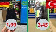 Bu Fiyat Farkları Sizi Üzebilir! Türkiye ve Almanya'daki Aynı Ürünleri Asgari Ücrete Göre Mukayese Ediyoruz!