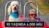 Hayallerinizi Ertelemeyin! 90 Yaşında Kanserle Savaşırken Bir Yandan da Köpeğiyle Dünyayı Dolaşan Cesur Norma'nın Hikayesi