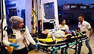 Motosikletten Düştü Burnu Bile Kanamadı: Kaza Yaptı Diye Babası Tarafından Hastanelik Edildi