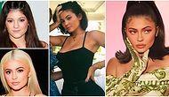 Bugün 22 Yaşına Giren Dünyanın En Genç Dolar Milyarderi Kylie Jenner'ın Yıllar İçinde Geçirdiği Şaşırtıcı Değişim