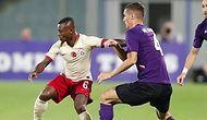 Galatasaray, Lig Öncesi Son Hazırlık Maçında Fiorentina'ya 4-1 Mağlup Oldu
