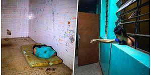 Yaşanan Büyük Krizle Birlikte İmkansızlıklar İçinde Kalan Venezuela'daki Tüyler Ürperten Psikiyatri Hastanesi
