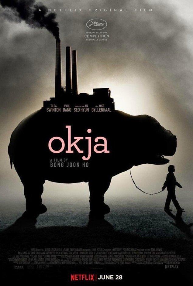 """7. Mija isimli kızın 10 yıl boyunca baktığı ve """"Okja"""" ismini verdiği domuzuyla olan hikayesini anlatan film hangi ülke yapımıdır?"""