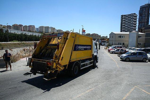 Küçükçekmece Belediyesi: Kötü kokuların önüne geçmek için belediyemiz tüm gücüyle çalışmaktadır'