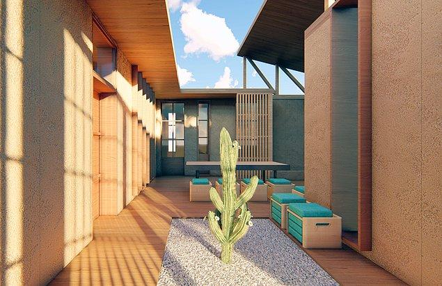 90 metrekarelik evi, 3 haftada inşa edecekler