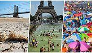 İklim Değişikliği Gerçektir! Bu Yazın Avrupa'da Ne Kadar Sıcak Geçtiğinin Kanıtı 15 Fotoğraf