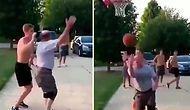 Teke Tek Basket Maçı Yaptığı Genci Fake Hareketi ile Dumura Uğratan Adam