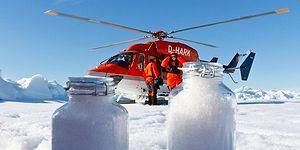 Kuzey Kutbu'na Gökten Plastik Yağıyor: Bir Litrede 10 Binden Fazla Parçacık Tespit Edildi