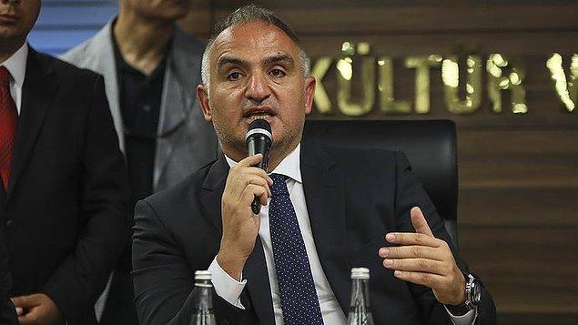Açıklama Kültür Bakanı Ersoy'dan geldi