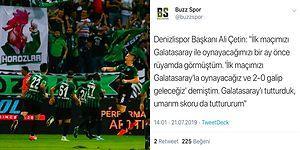 Galatasaray Yenilgiyle Başladı! Yukatel Denizlispor-Galatasaray Maçında Yaşananlar ve Tepkiler
