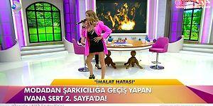 İvana Sert, Ahmet Kaya'nın 'Kum Gibi' Şarkısını Söyledi, Tepkiler Gecikmedi!