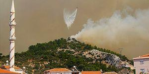 Karabağlar'daki Orman Yangını Menderes ve Seferihisar'a Sıçradı: 'Dünyada İlk Defa Müdahale İçin Gece Uçuşu Yapılacak'