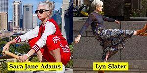Genç Fenomenleri Ellerinin Tersiyle İten ve Moda Dünyasındaki Yaş Sınırlamasına Savaş Açan 50 Yaş Üstü İkon Kadınlar
