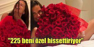 Adriana Lima'nın Sevgilisi Emir Uyar'ın Gönderdiği Güllerle Verdiği Çıplak Pozlar Sosyal Medyayı Salladı!