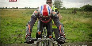 Özel Üretim Bisikletiyle Hız Rekoru Kırdı: Saatte 280 Kilometre