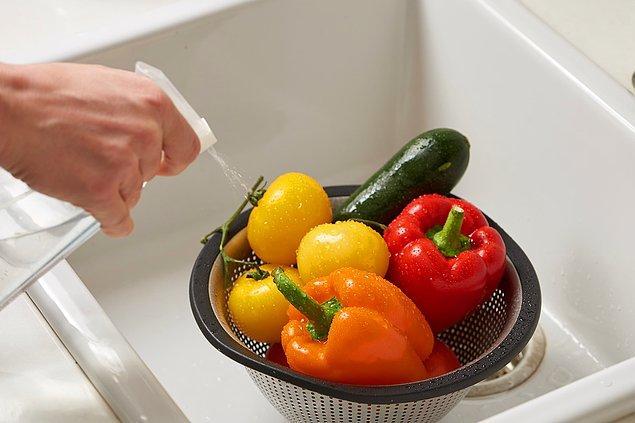 6. Meyve sebze temizliği