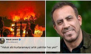 Haluk Levent Bildiğiniz Gibi: İzmir'de Devam Eden Yangınlar İçin Konser Verecek, Fidanlar Dağları Yeniden Yeşillendirecek!