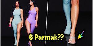 Geçirdiği Estetik Ameliyatları ile Bambaşka Birine Dönüşen Kim Kardashian'ın Yaptığı Photoshop Hatası Kafaları Karıştırdı!
