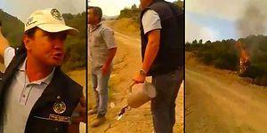 'İzmir'de Pürmüzle Orman Yakıyorlar' Videosuna Yalanlama: 'Karşı Ateş Metodunu Kullanıyor'