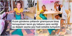 Şeyma Subaşı, Kızı Melisa'ya Giydirdiği Deniz Kızı Kıyafetiyle Dikkat Çekmeye Çalıştığını Düşünenler Tarafından Eleştiriliyor