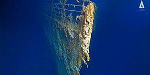 Dalgıçlar 'Batmayan Gemi'ye Yıllar Sonra Tekrar Daldı: Titanik'in En Net Görüntülerine Ulaşıldı