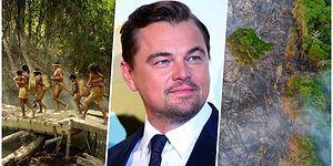 Yine Kalbimizi Kazandı! Leonardo DiCaprio Amazon Yağmur Ormanlarındaki Yangın İçin 5 Milyon Dolar Bağış Yapıp, Herkesi Seferberliğe Çağırdı