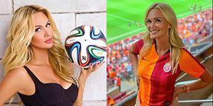2018 Dünya Kupası Elçisi Rus Model Victoria Lopyreva'dan Galatasaray Paylaşımları