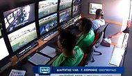 Yunanistan'da Kameralar VAR Odasını Gösterdiği Sırada Odaya Dürüm Siparişi Geldi!