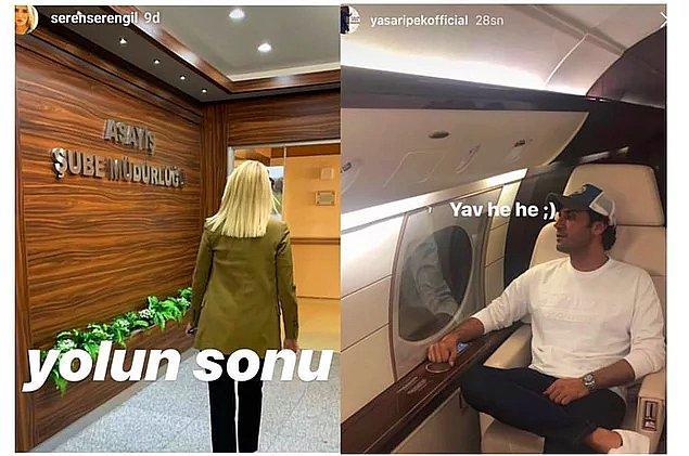 4. Seren Serengil ve Yaşar İpek'in boşanacağı iddia edildi, işin içine şiddet girdiği konuşuldu...