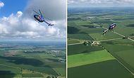 Red Bull Pilotundan Ağzınız Açık İzleyeceğiniz Görüntüler: Helikopterle Ters Takla Attı!