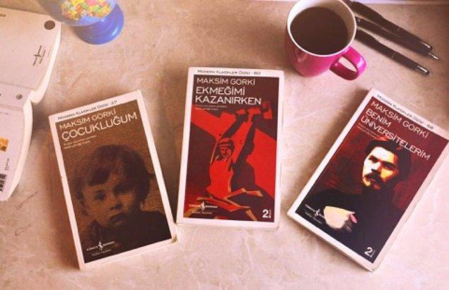 5. Çocukluğum/Ekmeğimi Kazanırken/Benim Üniversitelerim-Maksim Gorki