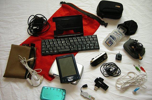 Elektronik cihazlar en önemlileri...
