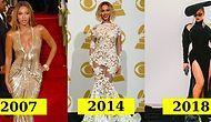 Kendine Özgü Tarzıyla Bir İkona Dönüşen Beyonce'nin 2001-2019 Yılları Arasında Davetlerde Giydiği 19 Elbisesi
