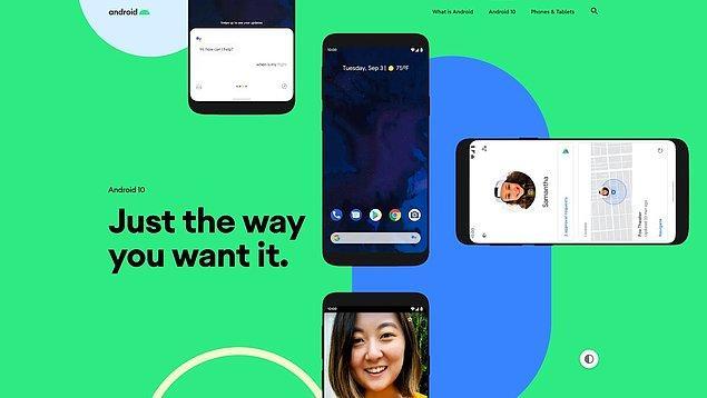 Yeni Android 10 sürümü ile birlikte gelecek en büyük özelliklerden birisi gece modu olacak.