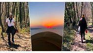 Onlar Yine Bildiğimiz Gibi: Neslihan Atagül ve Kadir Doğulu Çifti Doğayla İç İçe Muhteşem Bir Kamp Yaptılar