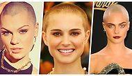 Saçlarını Kazıtarak Alışılmış Tarzlarının Dışına Çıkıp, Güzellikleriyle Herkesi Etkileyen 15 Ünlü Kadın