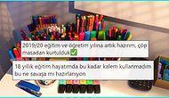Aşırı Düzenli Masası ve Rengarenk Kalemleriyle Dikkat Çeken Kullanıcıya Sosyal Medyadan Gelen Tepkiler