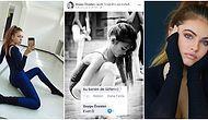 Ünlü YouTuber Duygu Özaslan'ın Dünyaca Ünlü Bir Modelin Çocukluk Fotoğrafını Kendi Fotoğrafı Gibi Paylaştığı Ortaya Çıktı