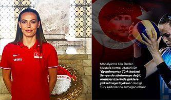 Milli Voleybolcumuz Eda Erdem Madalyasını Türk Kadınına Armağan Ederek Bizi Bir Kez Daha Gururlandırdı!
