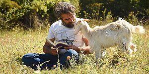 15 Yıllık İş Hayatının Ardından Köyüne Döndü: 'Keçilerimle Dağa Çıkar, Meşe Ağacının Gölgesinde Kitabımı Okurum'