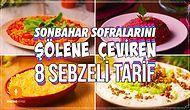 Sağlıklı Besinlerin Tadını Çıkarmanın Tam Zamanı! Sonbahar Sofralarını Şölene Çeviren 8 Sebzeli Tarif