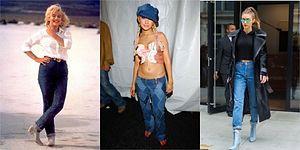 Moda Kendini Tekrar Eder! Her Daim Kullandığımız Kot Pantolonların Yıllar İçindeki Değişimini Görünce Çok Şaşıracaksınız