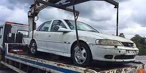 Çalınan Arabasını 12 Yıl Sonra Buldu: 15 Bin Lira Hurda Bedeli Olan Araç İçin 32 Bin Lira Otopark Borcu